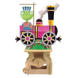Artoy stavebnica pohyblivého modelu - Okolo sveta - Vlak