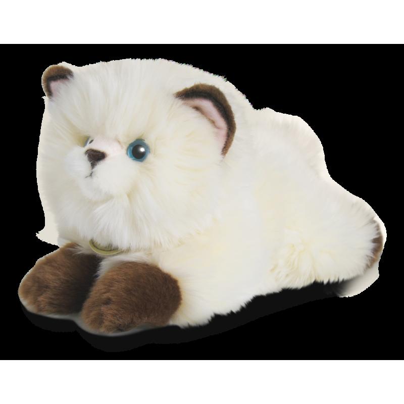 Himalájská kočka ležící 22 cm