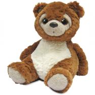 Medvedík plyšový hnedý 28 cm