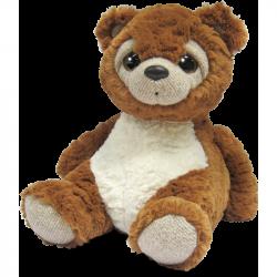 Pluszowy miś Teddy 27,5 cm brązowy