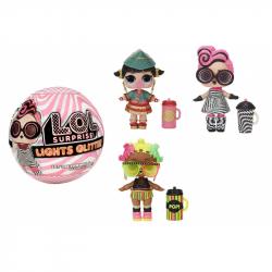LOL bábika so svietiacimi trblietkami