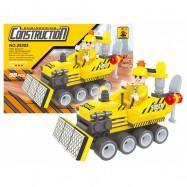 Stavebnice AUSINI stavba buldozer, 98 dílů
