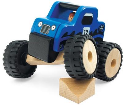 Dřevěný teréňák