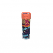 Spojovací korále a tvary Pop Arty 50 ks modré/fialové