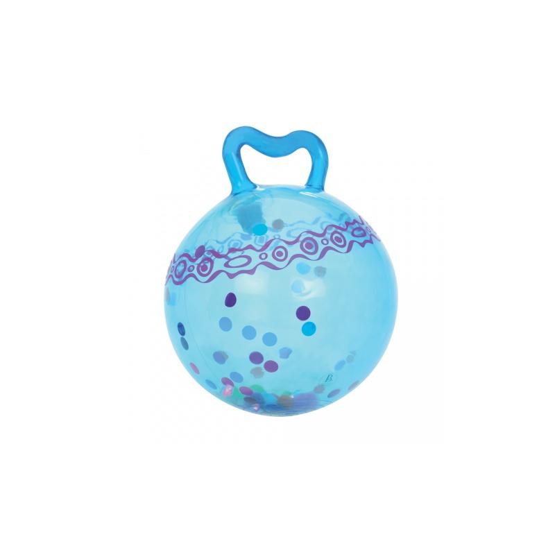 Skákacie loptu Hop n 'Glow modrý