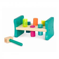 Zatloukačka dřevěná Pound & Play