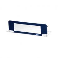 Bezpečnostní zábrana na postel tm. modrá