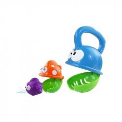 Dětská hračka do koupele Baby Mix papajíci rybka