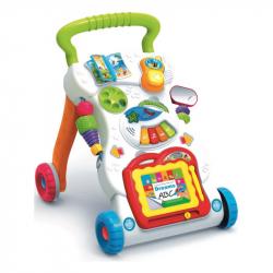 Detské hrajúci edukačná chodítko Baby Mix