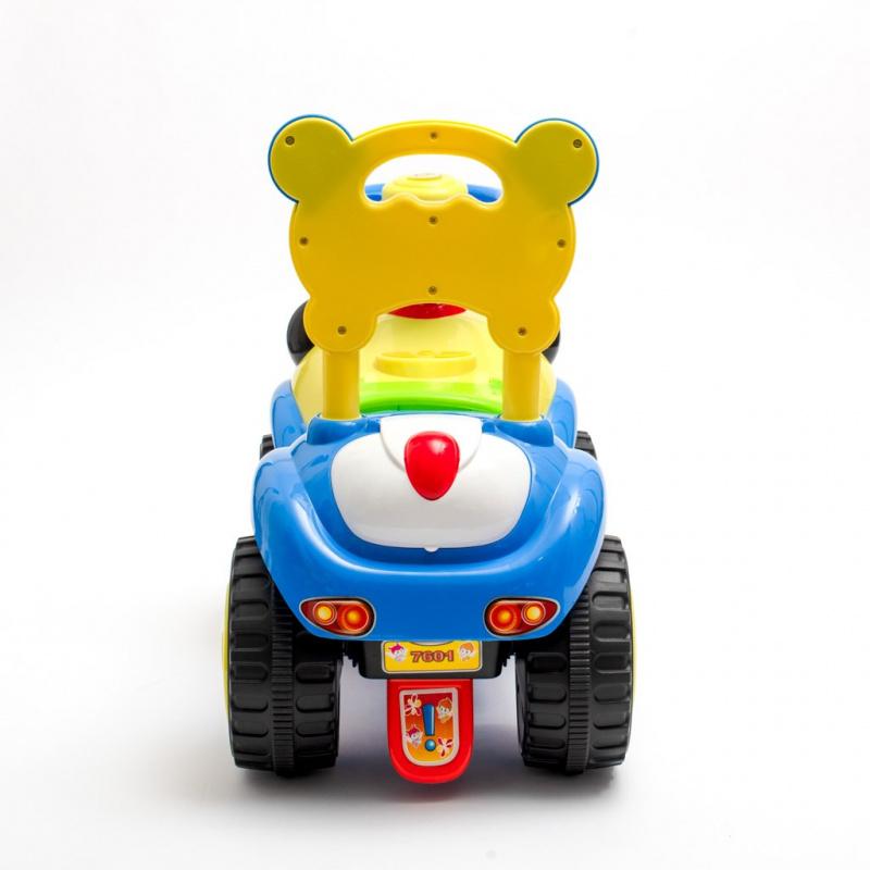 Dětské odrážedlo se zvukem Baby Mix Panda modré