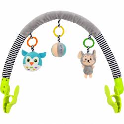 Hračka na kočík Baby Mix myška, sova