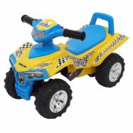 Dětské odrážedlo se zvukem Čtyřkolka Baby Mix yellow/blue