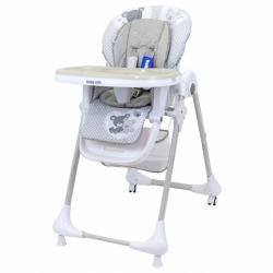 Jídelní židlička Baby Mix Infant grey
