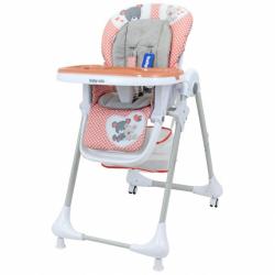 Jídelní židlička Baby Mix Infant pink