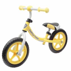 Detské odrážadlo bicykel Baby Mix TWIST žlté