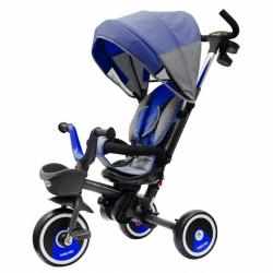 Dětská tříkolka Baby Mix 5v1 RELAX 360° modrá