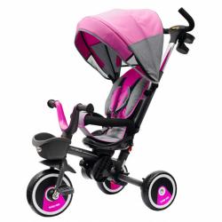 Dětská tříkolka Baby Mix 5v1 RELAX 360° růžová