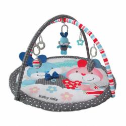Hrací deka Baby Mix králici kamaráti