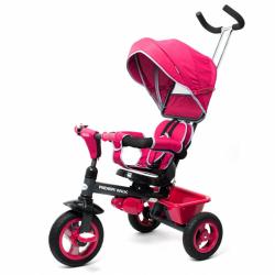 Detská trojkolka Baby Mix 5v1 RIDER 360 ° ružová
