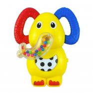 Dětské chrastítko se zvukem Baby Mix sloník