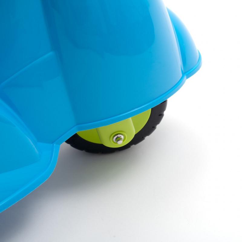 Dětské odrážedlo motorka se zvukem Baby Mix Scooter modré