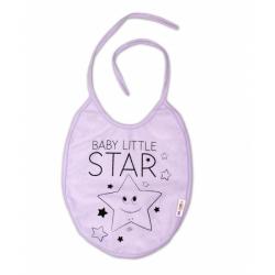 Bryndáček velký Baby Little Star - lila