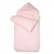 Bavlněný fusak prošívaný, 45 x 95 cm - růžový