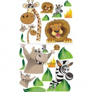 Nálepky, dekorace na stěnu 70x100 cm - Zoo