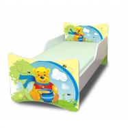 Dětská postel Medvídek s medem - 180x80 cm