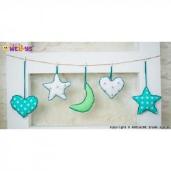 Sada dekorací Stars be Love č. 4