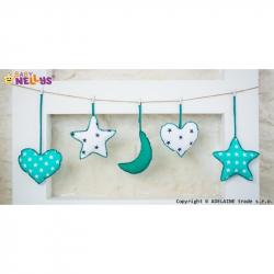 Sada dekorací STARS be LOVE č. 5