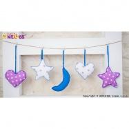 Sada dekorací STARS be LOVE č. 7