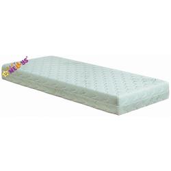 Detská matrac 120x60x12cm s Aloe de lux, kokos / pena / pohánka