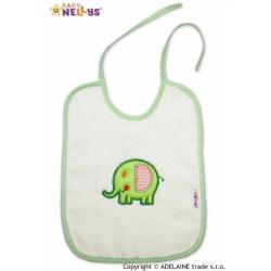 Podbradník Baby Nellys ® SLON - smotanový