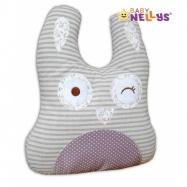 Mazlík, polštářek Zajíc - velký