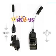 ee929f911 Slnečník, dáždnik do kočíka Baby Nellys ® - červený