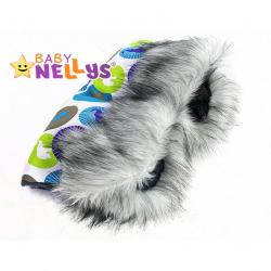 Rukávnik ku kočíku s kožušinkou Baby Nellys ®LUX Eskymo - 02