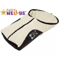 Fusak nielen do autosedačky Baby Nellys ® Mink - smotanový