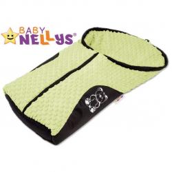 Fusak nielen do autosedačky Baby Nellys ® Mink - mätový