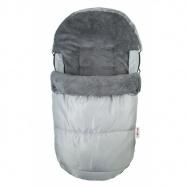 Fusak DELUX Baby Nellys ® 105x50cm - sivý
