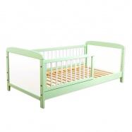 Dětská juniorská postel/postýlka Nellys - zelená/bílá
