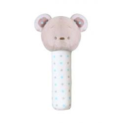 Plyšová pískací hračka Bear Tony, 17 cm