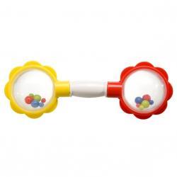 Chrastítko Květinka - mix barev