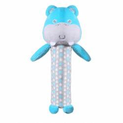 Plyšová pískacia hračka Baby Ono Hippo Marcel