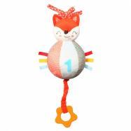 Pluszowa zabawka z automatem i gryzakiem Baby Fox Vincent