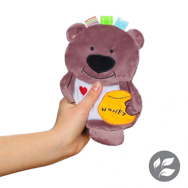 Pluszowa zabawka Baby Ono Flat Bear Todd