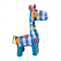 Hračka s hrkálkou Žirafka KÁRO