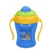 Hrníček modrý s brčkem Baby Ono 220ml