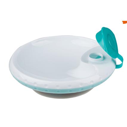 Ohrievacie tanierik s prísavkou - mätová