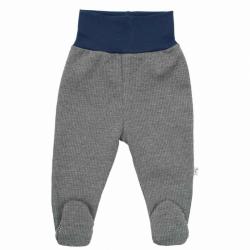 Zimní kojenecké polodupačky Baby Service Retro šedé